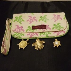 Wristlet and Tutle Pins